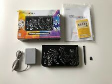 Nintendo New 3DS XL Pokemon Sun and Moon Solgaleo Lunala Black Limited Edition