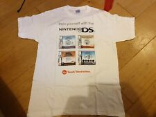 Nintendo ds touch  Promo T Tee Shirt medium m official new