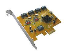 PCI EXPRESS (PCIE) Carte Controleur SATA 2  / 4 PORTS /