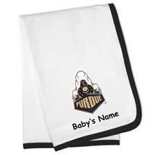 Purdue Boilermakers Personalized Baby Blanket