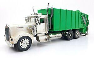 Popak New Ray Kenworth Semi Truck Diecast Dump Trash Truck
