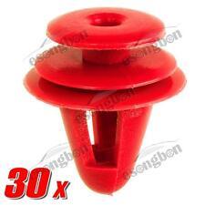 30x Nylon Trim Rocker Panel Cover Clips Rivet Retainer for Toyota Echo Corolla