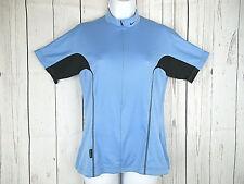 770e7dcfb NIKE Dri-Fit Women s Blue Cycling Jersey 3 4 Zip W  Pockets Made