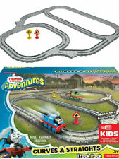 Mattel Thomas Adventures CURVES & STRAIGHTS Expansion Pack Train Track Toy