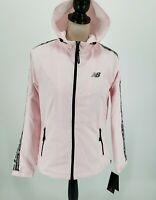 New Balance Fearlessly Independent Womens Full Zip Jacket Light Pink Size S NWT