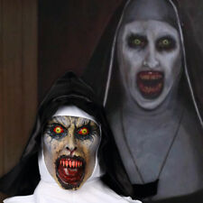 The Nun Valak Mask Cosplay The Conjuring Scary Mask Halloween Full Head Props