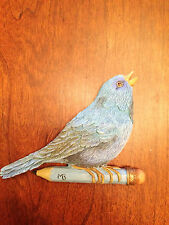 Hallmark Marjolein Bastin Blue Bird On Pencil - Magnet