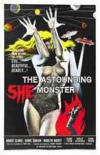 Astounding ella Monster Cartel 01 A3 Caja Lona Impresión