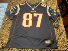 Nike GRONKOWSKI NEW ENGLAND PATRIOTS Mens XL NFL Team Authentic Stitched JERSEY