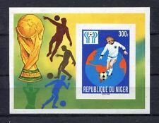 s5417) NIGER 1978 MNH** WC Football - Coppa Mondo Calcio S/S IMPERF