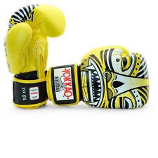 Yokkao Mayan Muay Thai Yellow Boxing Gloves Kickboxing Sparring Glory