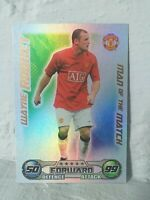 MATCH ATTAX MAN OF THE MATCH 2008/2009 CARD - WAYNE ROONEY MANCHESTER UNITED