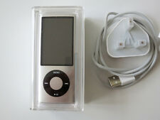 Apple iPod nano 5th Generation Silver(8GB) VGC - but battery doesn't hold charge