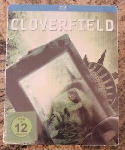 Cloverfield Steelbook Blu Ray Brand New Factory Sealed German Import Region B