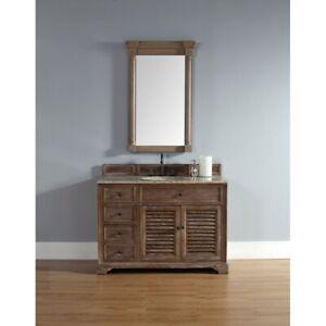 James Martin Savannah 48' Single Vanity Cabinet, Driftwood - 238-104-5211