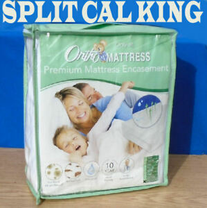 "ORTHO Premium Mattress Encasement Split California King 36""x84"" - NEW & Sealed"