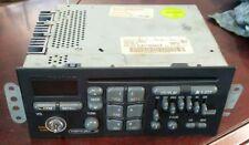 1997 Pontiac Radio Single Disc Cd Player & Equalizer 16194142