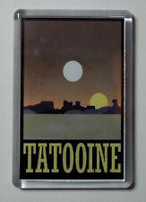 Tatooine Travel Poster Fridge Magnet, Star Wars