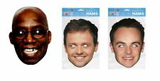 I'm a Celebrity mask set - Ian Wright with Ant and Dec