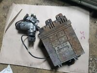 VW LT ENGINE ECU AND KEY SET 074906021AE  0281001788
