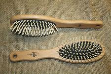 Holzbürste Haarbürste  Ahornholz, echte Holzstifte, neue Bürste aus Deutschland