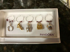 Pandora Wine Glass Charms New