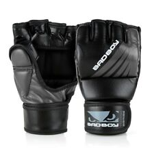 Bad Boy MMA Gloves Training Series Impact Black Grey Fight Gloves