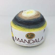 Serpent Yarn Lion BRAND Mandala Gradient 5.3oz 150g Light Worsted Acrylic
