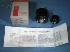 NEW General Radio 974-J 500 Ohm Potentiometer in Box w/Instructions & Knob - NEW