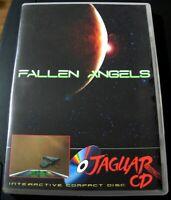 FALLEN ANGELS - Atari JAGUAR CD jeu / game homebrew for collector. Rare.