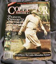 "COLLECTOR MAGAZINE & PRICE GUIDE~SEPT 1994~108 PGS~10 3/4"" X 8"" FEA. BASEBALL~VG"