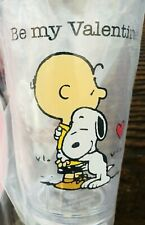 Pottery Barn Kids Valentines Day Peanuts Snoopy Tumbler Cup New Be My Valentine
