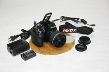 PENTAX K-50 DSLR Camera - Black (Kit w/ DA L 18-55mm AL WR Lens) (EX) [B3]