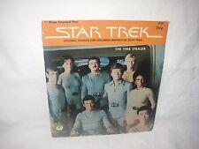 "RARE VINTAGE STAR TREK 7"" 45 RPM RECORD THE TIME STEALER KIRK SPOCK & CREW NEW"