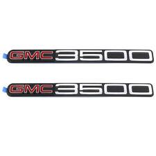 OEM NEW Front Door Right & Left GMC 3500 Emblem Set 01-07 Savana Sierra 15707437
