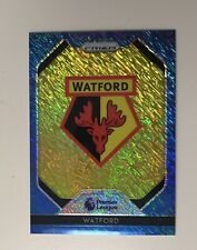 2019-20 Panini Prizm First Off The Line EPL Blue Shimmer WATFORD Crest Logo 5/8