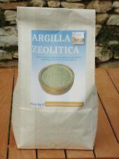Argilla zeolitica in polvere - kg 4 per disintossicazione e fanghi uso int. est.