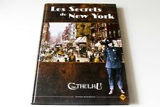 L'APPEL DE CTHULHU - LES SECRETS DE NEW YORK - SANS DETOUR - NEUF