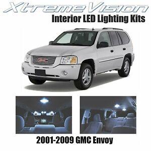 XtremeVision LED for GMC Envoy 2001-2009 (9 Pieces) Cool White Premium Interior