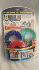 *As Seen on TV* Lego Build Bonanza, Peel/Stick/Build, 12ft of Lego Surface Tape