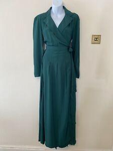 The Seamstress Of Bloomsbury Hollywood Pyjama Set Green Size S 10 BNWT RRP £120