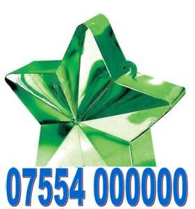 UNIQUE EXCLUSIVE RARE GOLD EASY VIP MOBILE PHONE NUMBER SIM CARD > 07554 000000