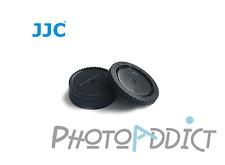 JJC L-R2 Bouchon de boitier + Bouchon arrière d'objectif pour NIKON