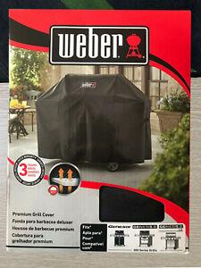 """58"""" Waterproof Heavy Duty Gas BBQ Grill Cover Weber Genesis II 300 Series #7130"""
