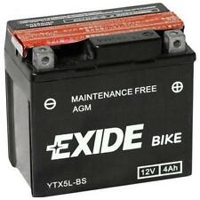 BATTERIA MOTO EXIDE AGM YTX5LBS 4AH 12V (ETX5LB)