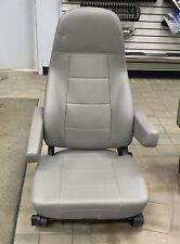 Freightliner M2 Semi Truck Gray Vinyl National Air Ride Bucket Seat w/ Heat