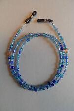Spectacle/Glasses Chain Multi Blue Tibetan Silver Celtic Knot Details Pretty