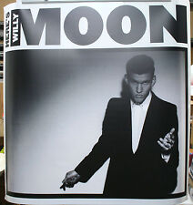 WILLY MOON Heres Willy Moon Official RARE 36x36 DURATRANS BACKLIT POSTER