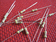 500pcs, 1/4W 0.25W 470 Ohm Resistors Ideal for 9V ~ 12V LEDs 470R Free Shipping