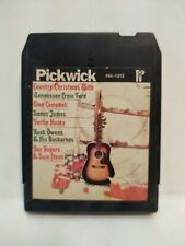 Country Christmas Various Artists Pickwick Eight 8 Track Tape et145